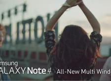 Note 4 完全無縫式多工處理:全新多重視窗官方介紹影片!