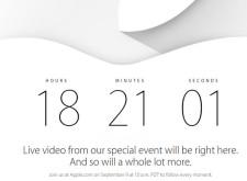 倒數計時!蘋果新品發表會9/10凌晨1點啟動!一起關注線上直播!