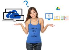 【教學】OneDrive VS Google Drive細節比一比