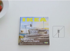 向APPLE致敬,IKEA仿蘋果風格拍攝自家型錄廣告