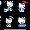 日本限定的Line貼圖 ── 鼻塞Kitty (更新:追加電腦桌布與手機桌布下載)