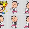 PSY進駐Line 推出江南Style騎馬舞貼圖